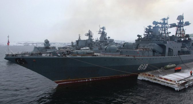 Putin Orders Northern Fleet to Full Alert