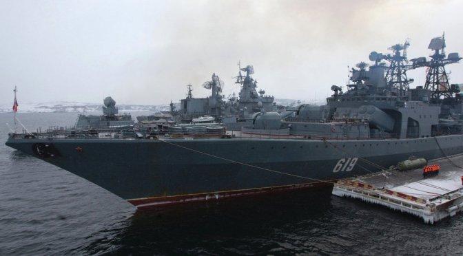 Putin Orders Northern Fleet to Full Alert