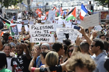 FRANCE-ISRAEL-PALESTINIANS-CONFLICT-GAZA-EUROPE-PROTEST-