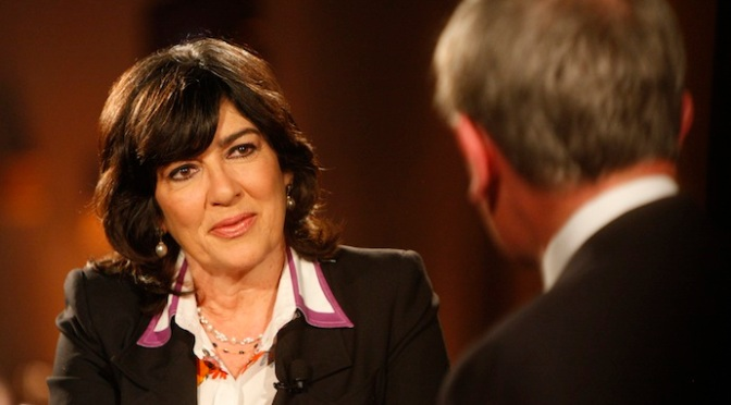 CNN's Amanpour Got Slapped Again, This Time by Nemtsov's Friend