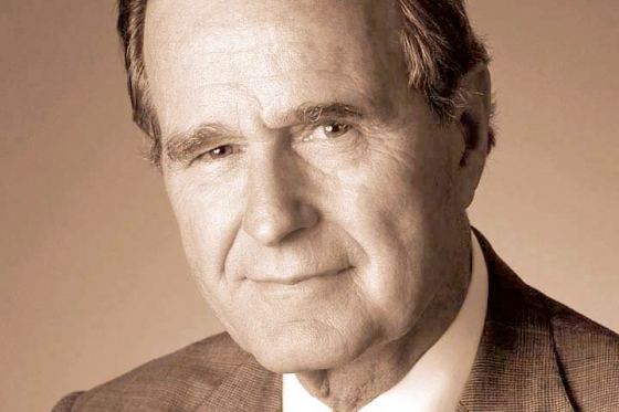 George Scherf jr or George Bush Sr