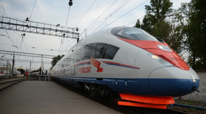 China Investing $5.2bn in Russia's First High Speed Railway