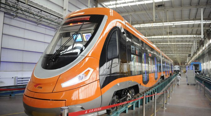 World's First Hydrogen Powered Tram Developed in China