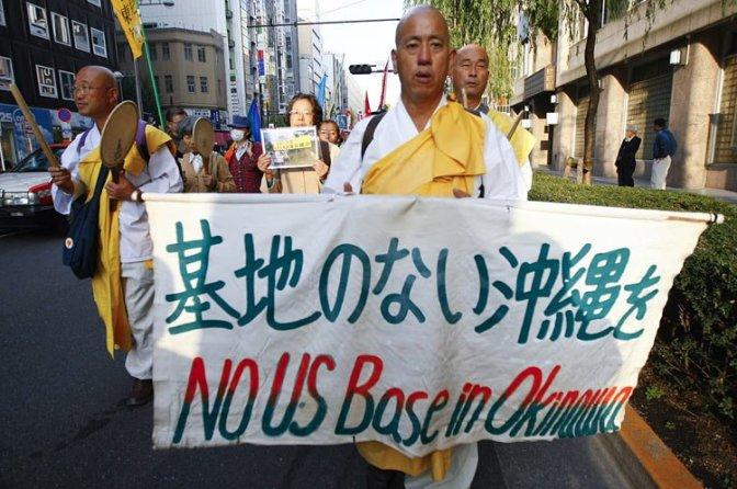 Okinawan Gov't Wants U.S. Military Base Out