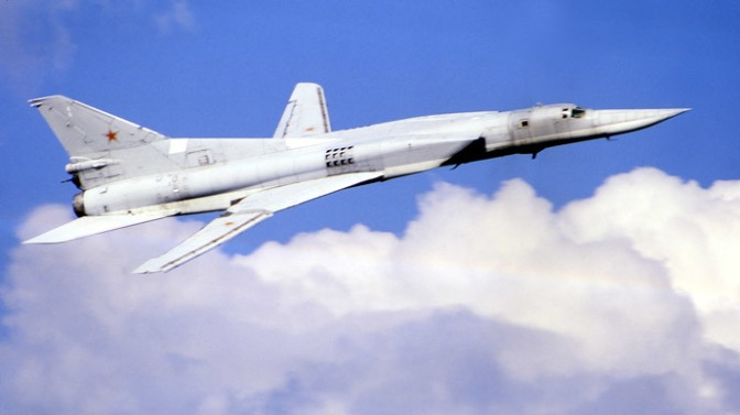 Russia Supersonic Bomber Heading Crimea; China On 5th Month of US T-bonds Dumping