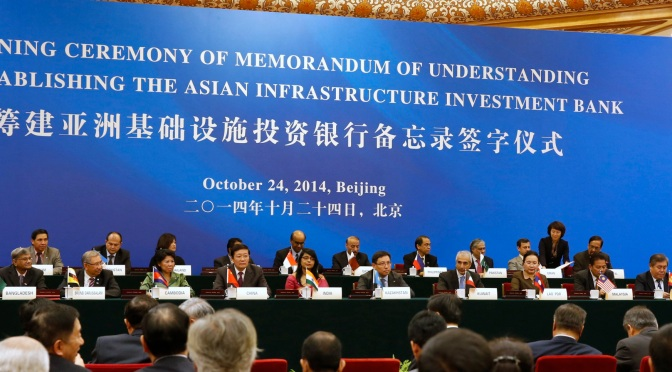 AIIB Approves 57 Founding Members