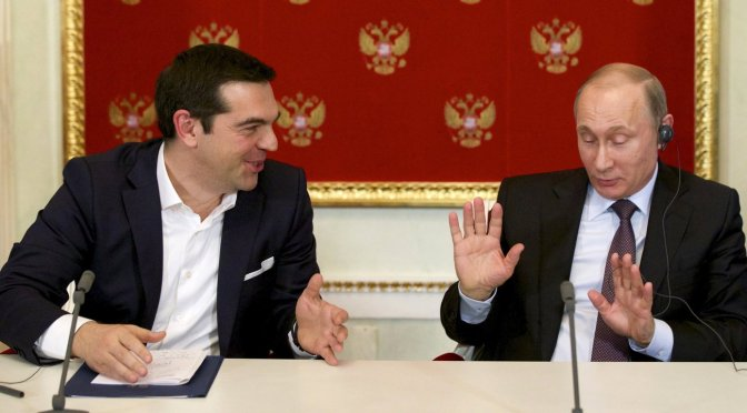 Greek PM Tsipras Sighted in Russia as Euro Cabalists Scramble for EU's Future