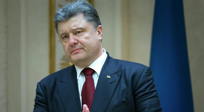 Poroshenko's Early Recognition of Crimea as Russian Territory Leaked