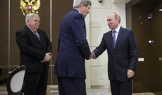 Why Kerry Visited Putin After 70th V-Day?