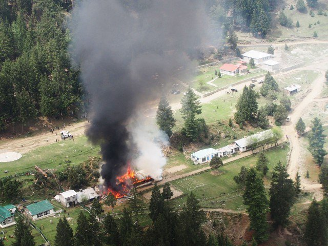 Diplomatic Helicopter Crashes in Pakistan, 7 Dead; Taliban Claims Responsibility