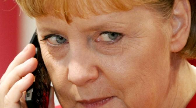 Is Merkel a CIA Asset?