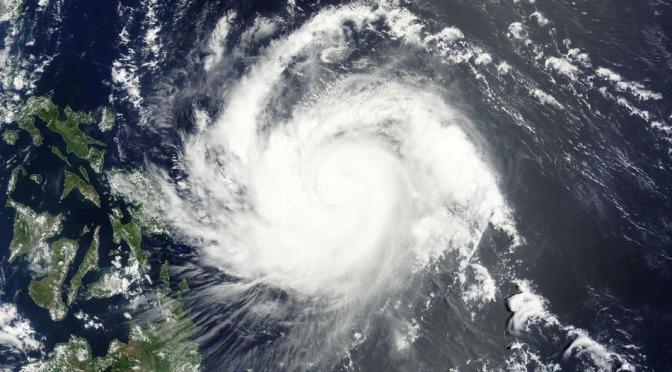 It's Summertime in the Philippines Yet Cat 4 Typhoon is Underway