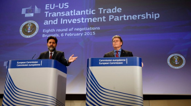 TTIP Talks Continue with Zero Transparency