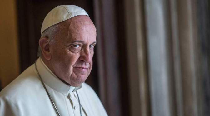 The world is at war… organized, but not about religion | Pope Bergoglio