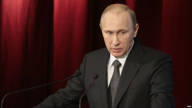 Putin's Speech @ FSB 2015