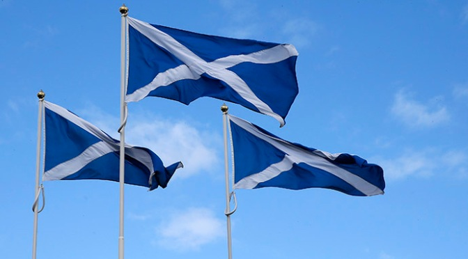 "DisUnited Kingdom: Thousands Joining ""Independent Scotland"""