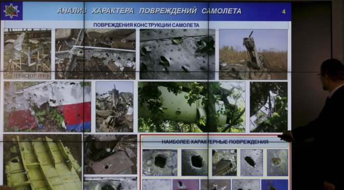 Netherlands Requests Int'l Tribunal before Naming Flight MH17 Suspects