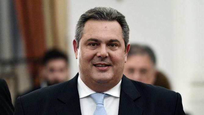 """We Won't Surrender"" – Greek Defense Minister Kammenos"