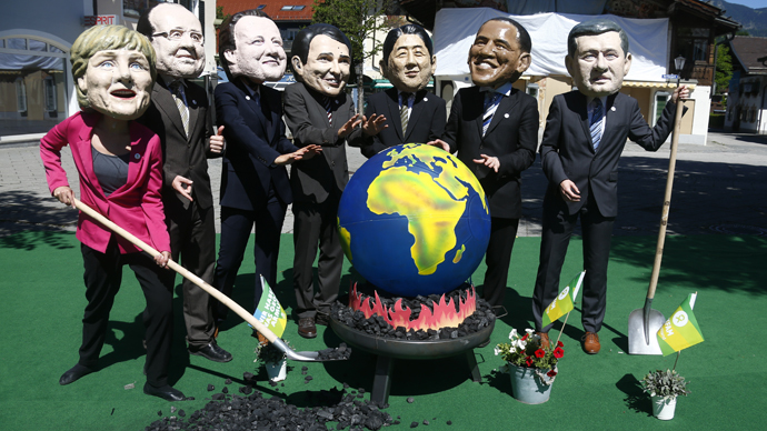 、G7に出席していなかった扱い ...