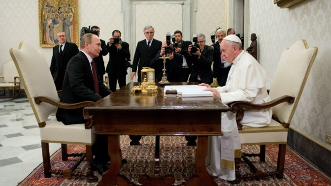 Why Mainstream Media Bitter About Putin & Pope Bergoglio Meeting