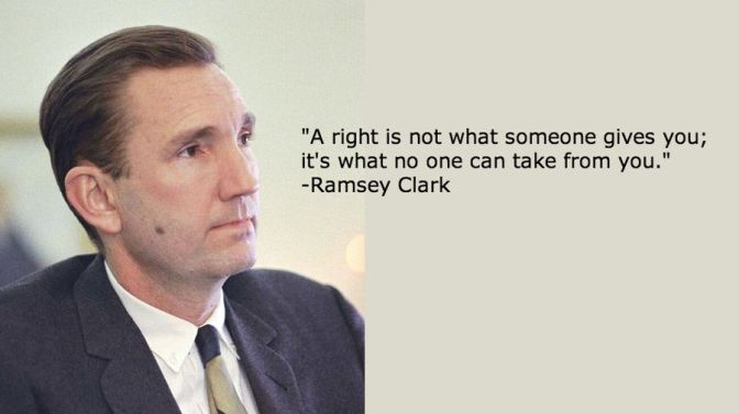 Ex-US Atty Gen Ramsey Clark Joins Lawsuit Against Bush, Cheney, et. al. for Illegal Iraq War