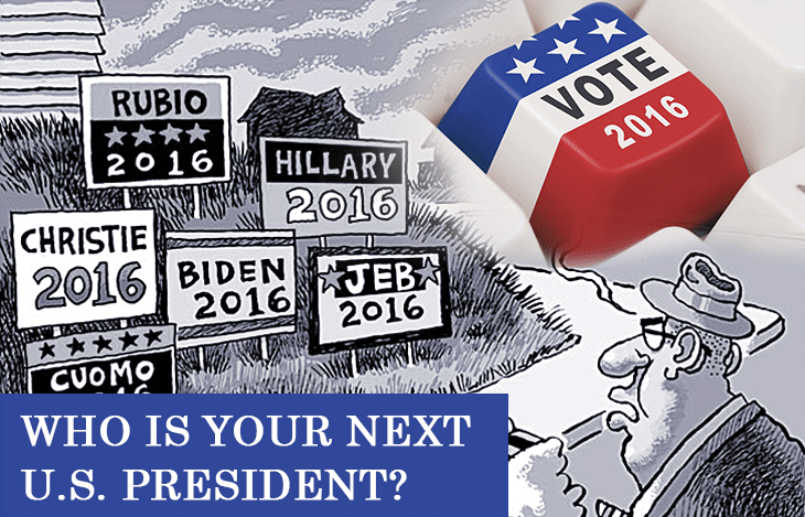 Who is your next US President?