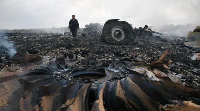Israel-Made Missile Hit Malaysian Flight MH-17; Onsite Video Confirms A 2nd Plane