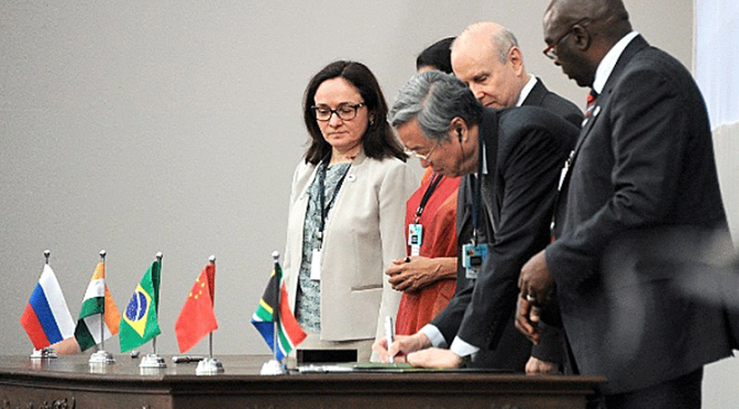 $100B BRICS Monetary Fund to Be Operational in 30 Days