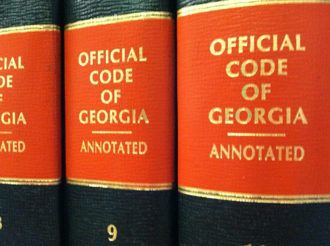 Copyright Lawsuit Filed for Exposing Annotated Georgia State Code