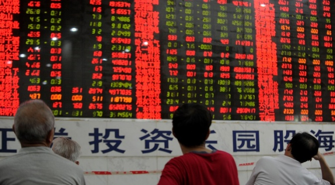 Shanghai Stock Exchange Under Massive Attack After China Offers to Help Greece
