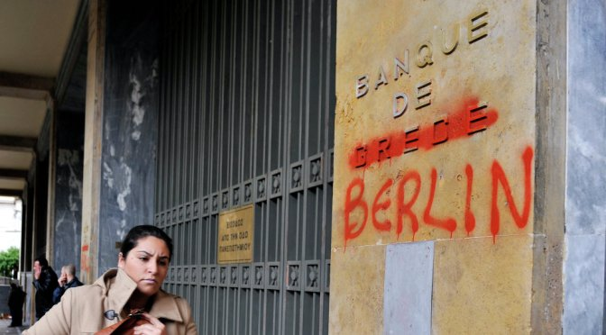 Germany Made 100 Billion Euros from Greek Crisis