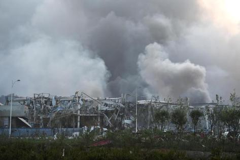 UPDATE Tianjin China Explosion 102916593-tianjin_explosion_4-600x400