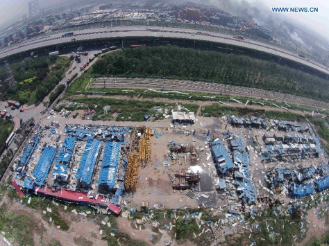 UPDATE Tianjin China Explosion 12