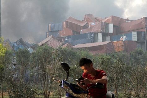 UPDATE Tianjin China Explosion 3000