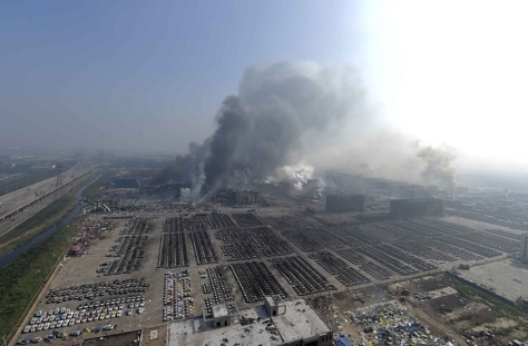 UPDATE Tianjin China Explosion 4390