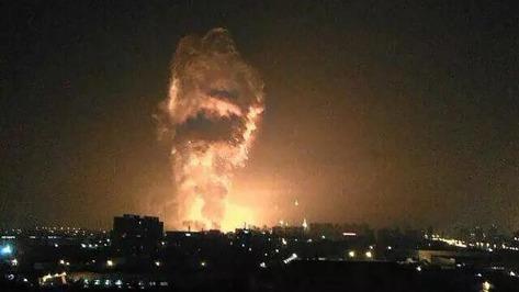 UPDATE Tianjin China Explosion Tianjin-explosion