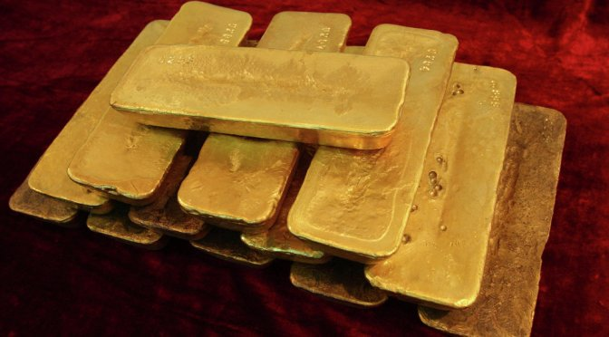 """COUNTRIES RESUME WITHDRAWING GOLD RESERVES FROM """"LAST"""" FEDERAL RESERVE"""