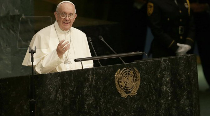 Dissecting Pope Bergoglio's Speech at the United Nations