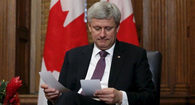 Stephen Harper Out, Justin Trudeau In