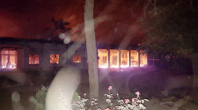 "US Dumb Bombing of Kunduz Hospital Obama's ""Tragic Incident"""