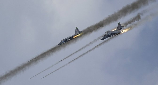 "Russia Hits Precise ISIS Targets; US Bombing Where Obama ""Ended 2 Wars"""