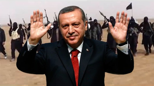 erdogan with isis