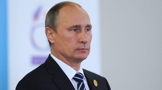 "Putin Put the G20 on Notice: ""We know you are financing Islamic State"""