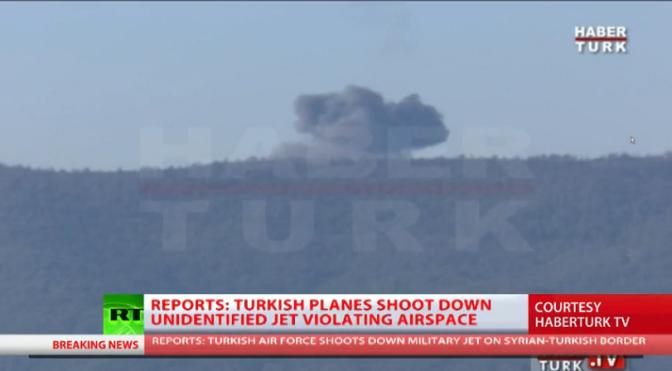 "Turkey Shot Down Russian War Plane for ""Border Intrusion""!"