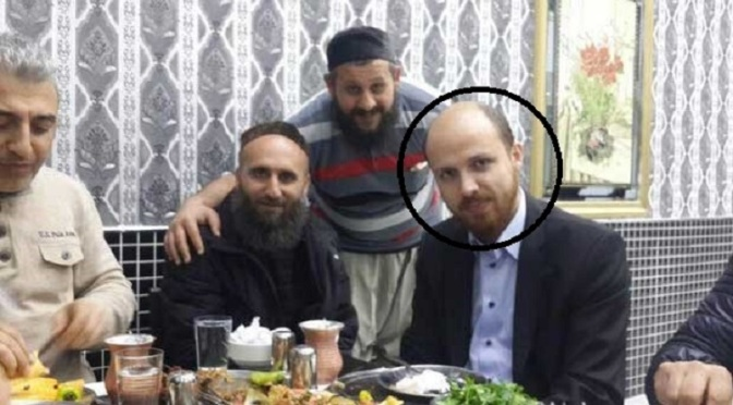 Turkey's First Son Bilal Erdogan Enjoys Dinner with ISIS leaders