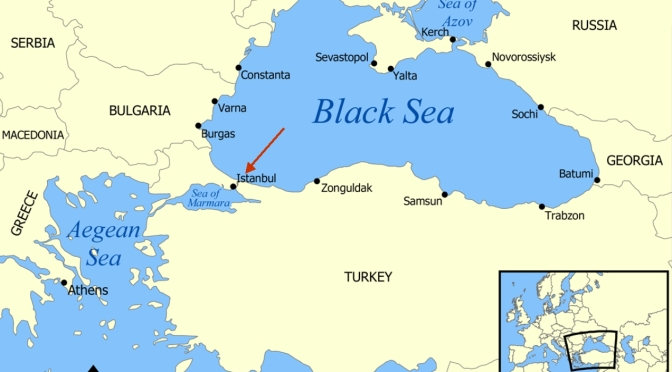 Shadow War Emerging Between Russia & Turkey @ Bosporus Strait