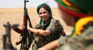 kurdish women fighter