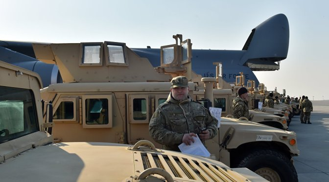 Ukraine Receives Old Humvees & Recycled Vests for $250 Million US Aid