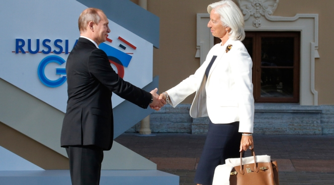 IMF Backstabs Russia by Lifting Loan Ban vs. Debt-dodging Ukraine