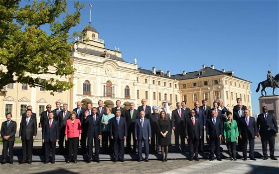 g20 summit st petersburg russia 2013